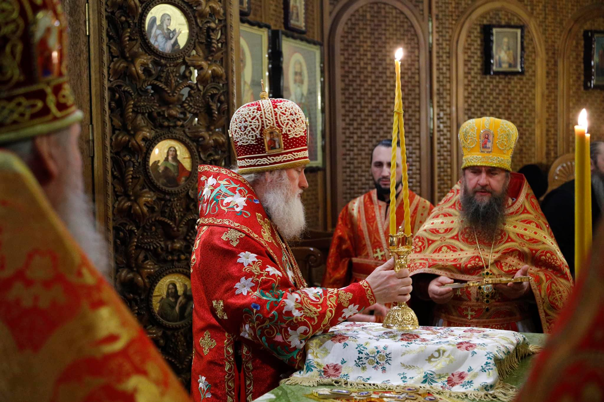 Божественная литургия в день памяти Святого Священномученика Власия, епископа Севастийского