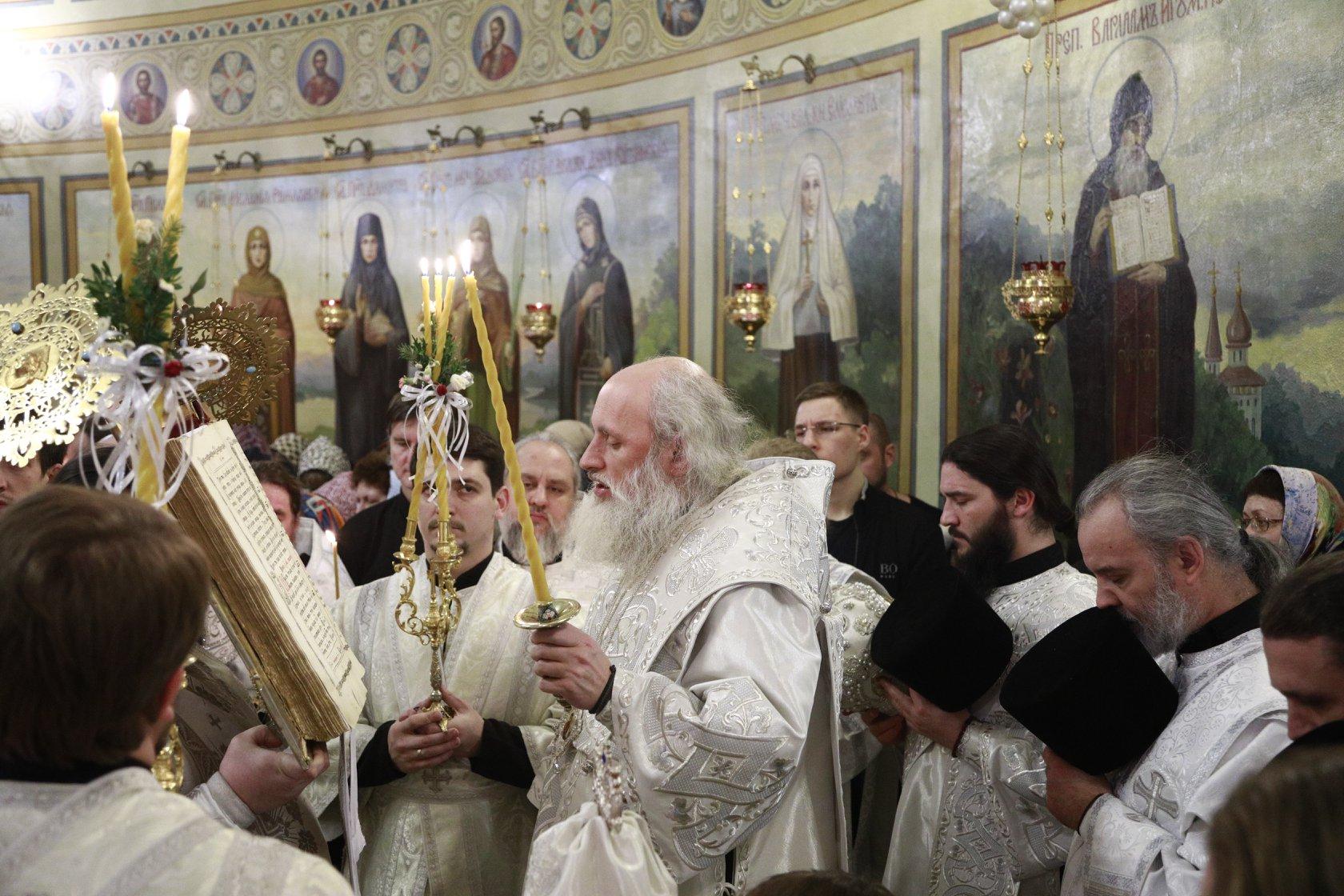 Всенощное бдение накануне недели 30-я по Пятидесятнице,по Рождестве Христовом и пред Богоявлением