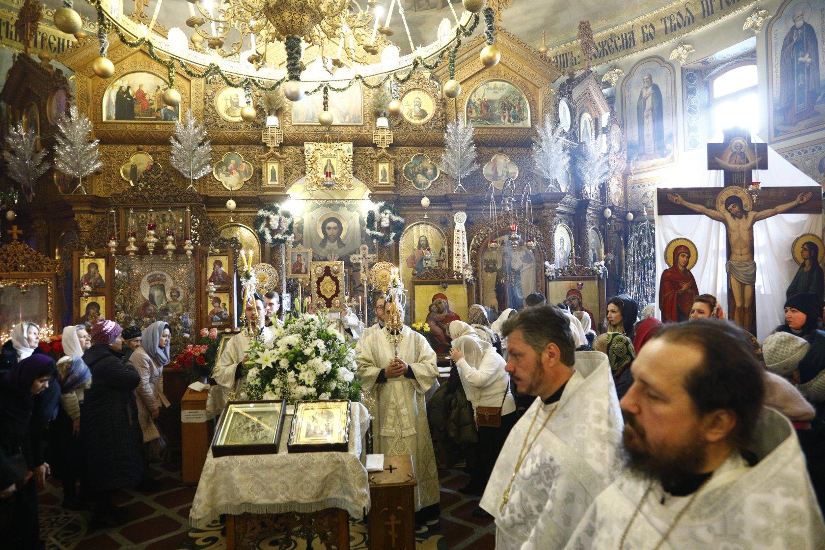 Божественная литургия в неделю 30-ю по Пятидесятнице, по Рождестве Христовом и перед Богоявлением